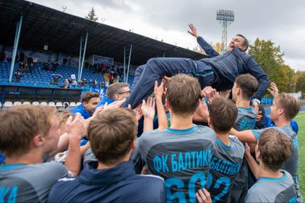 «Балтика» – чемпион первого сезона ЮФЛ Северо-Запад!