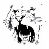 Черные львы