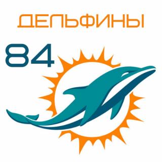 Дельфины 84
