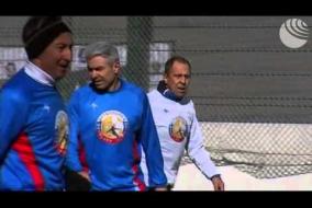 Лавров сыграл в гала-матче Народной футбольной лиги