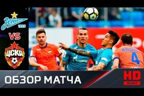 Зенит - ЦСКА - 0:0. Обзор матча