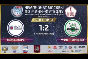 06.05.2018 НМФЛ. Суперлига.  МФК