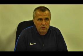 Пресс-конференция Константина Климашина после матча