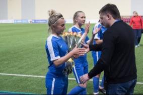 Дубль Нелли Коровкиной в матче