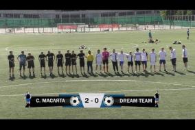 Строгинские Маслята 2-0 Dream Team, обзор матча