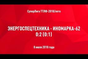 08.07.2018. Энергоспецтехника-ДЖ - Иномарка-62 - 0:2