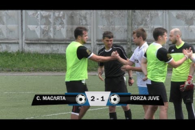 Строгинские Маслята 2-1 Forza Juve, обзор матча