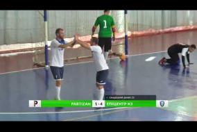 Огляд матчу | PARTIZAN 3-5 Эпицентр К3 | Вища ліга 3 тур