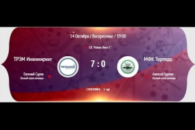 НМФЛ 2018-19. Суперлига. (1-тайм). МФК