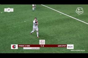 Тревис и ВВК – Цикорич - 1-2