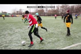 С/х Арсенал - Портер 5:2 (08.12.2018) обзор