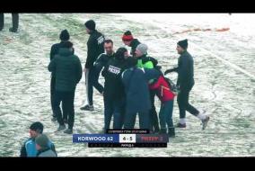23.12.2018. Korwood 62 - РИЗУР-2 - 1:1. Фрагменты матча