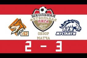 Школьная Футбольная Лига 2019. Лисы (152) vs Мустанги (132). 2:3