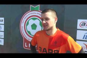 Интервью представителя ФК Заря