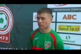 Интервью представителя ФК Гребеник