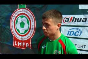 Интервью представителя ФК GREBENIK