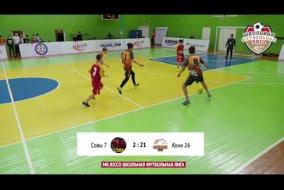 Школьная Футбольная Лига 2019. Обзор матча: Совы 7 - Кони 26