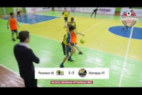 Школьная Футбольная Лига 2019. Обзор матча: Росомахи 46 - Леопарды 43