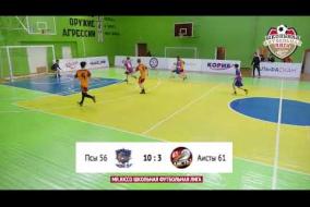 Школьная Футбольная Лига 2019. Обзор матча: Псы 56 - Аисты 61