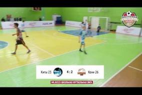 Школьная Футбольная Лига 2019. Обзор матча: Киты 23 - Кони 26