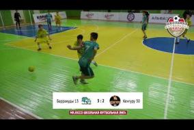 Школьная Футбольная Лига 2019. Обзор матча: Барракуды 13 - Кенгуру 30