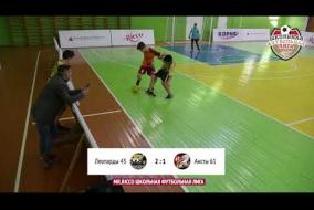 Школьная Футбольная Лига 2019. Обзор матча: Леопарды 43 - Аисты 61