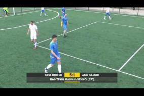 Обзор матча | 3. CRO UNITED 8 – 3 ABM CLOUD #SFCK Street Football Challenge Kiev