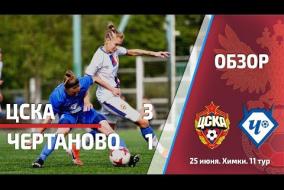 Обзор матча 11-го тура ЦСКА -