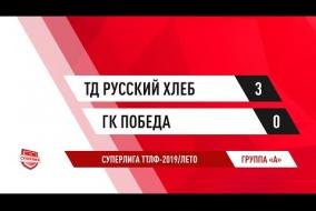 07.07.2019.ТД Русский хлеб-ГК Победа-3:0