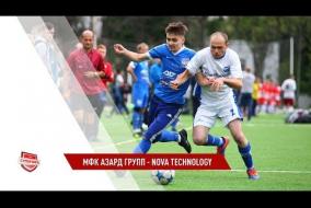 13.07.2019. МФК Азард групп - Nova Technology - 4:3