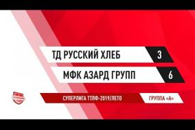 21.07.2019.ТД Русский хлеб-МФК Азард групп-3:6