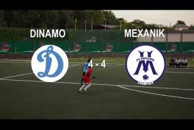 Тур 16. Обзор матча Mexanik - Dinamo 4:4