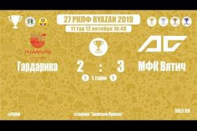 27 РКЛФ   Золотой Кубок   Гардарика - МФК Вятич   2:3
