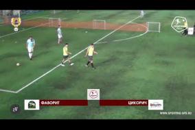 Фаворит – Цикорич - 3-3