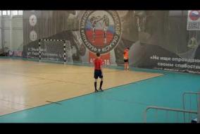 Первая лига. 2 тур. «Антарес-Регтайм» 5 : 1 «Инза»