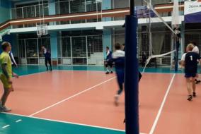 Волейбол 2019-2020 Матч ВСК - Газпромбанк Фрагмент 2 ВСК ликвидировали отставание в 8 мячей во 2-м сете