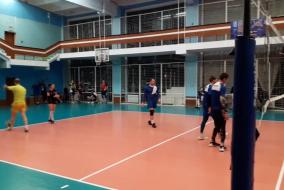 Волейбол 2019-2020 Матч ВСК - Газпромбанк Фрагмент 6 счет становится 30-29