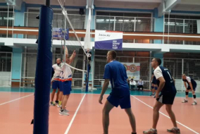 Волейбол 2019-2020 Матч ВАСО - РВК Фрагмент 2 концовка