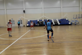 Футзал 2019-2020. Матч ОФИСМАГ - ВСК. Фрагмент 1