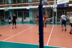 Волейбол 2019-2020. Матч СБЕРБАНК - ЭФКО. Фрагмент 3 Концовка первого сета