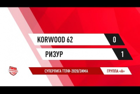 07.12.2019.Korwood 62-РИЗУР-0:1