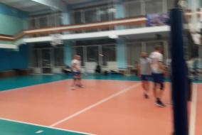 Волейбол 2019-2020 Матч ЭФКО - ТНС Фрагмент 1 Концовка 1-го сета
