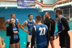 Волейбол 2019-2020 Матч ЭФКО - ТНС Фрагмент 4 Концовка