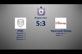 Вторая лига 2019/20. РМС - Красный Якорь 5:3