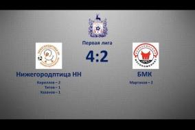 Первая лига 2019/20. Нижегородптица НН - Балахнинский мясокомбинат 4:2