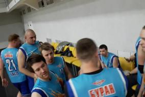 Баскетбол 2019-2020. Матч ГАЗПРОЕКТ - ВАСО. Фрагмент 2.третий период, тайм-аут ВАСО