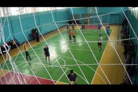 Волейбол. Кам'яне - Баштанка. Чемпіонат з волейболу Новобузького району. 2 партія