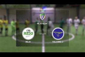 REJO 4-0 Falcons-2 | Winter R-CUP | Твій регулярний турнір з міні-футболу