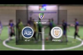 AZ-41 6-3 Phoenix | Winter R-CUP | Твій регулярний турнір з міні-футболу