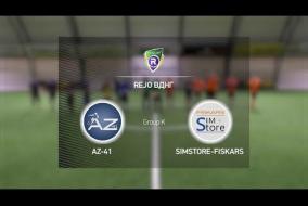 AZ-41 6-7 SimStore Fiskars | Winter R-CUP | Твій регулярний турнір з міні-футболу